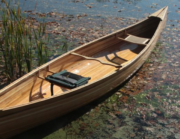 how to build a canoe seat from lumber