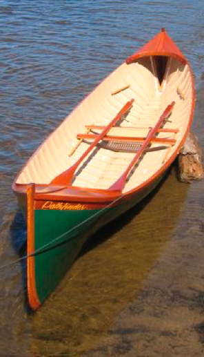... , Steve Redmond design, Whisp, lapstrake ply rowing/ sailing skiff